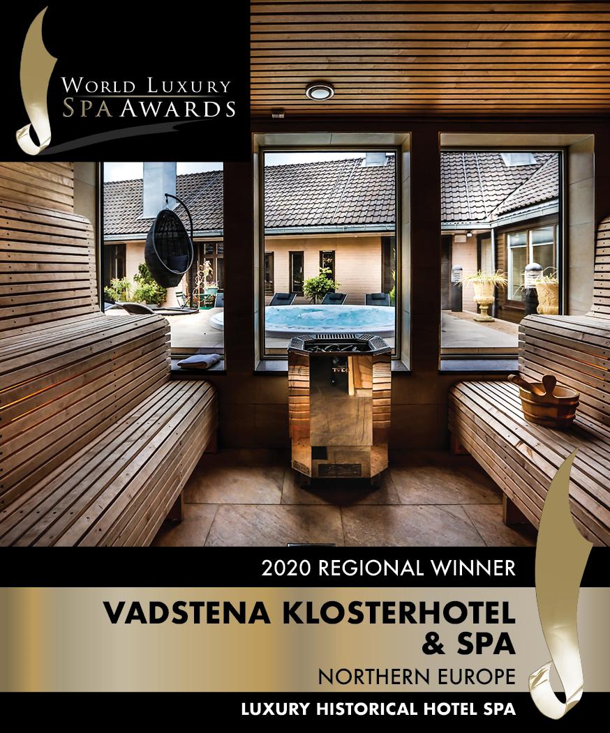Vi är vinnare av World Luxury Spa Awards för norra europa
