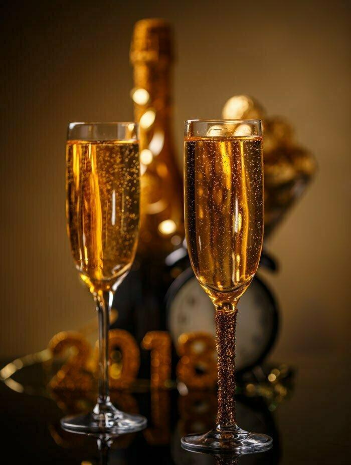 Skåla in det nya året!