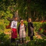 Klosterhotellet och Eva från Örtagårdens Vänner