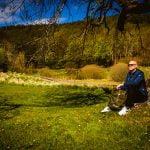 Vandring i runt Omberg i solskenet