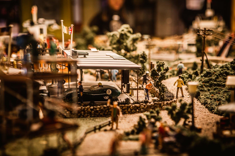Leksaksmuseum Vadstena miniatyrer