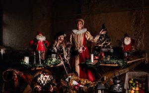 Julmarknad på Vadstena Slott